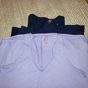 Set of 2 Luxletic Shirts from Lily P  XL GUC